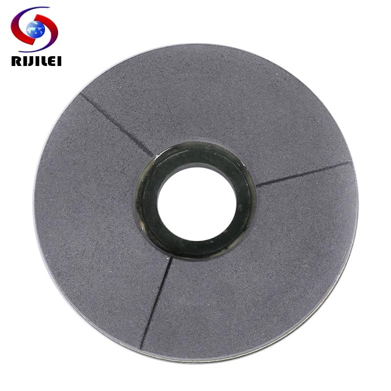 RIJILEI 5 10 inch BLACK Diamond grinding disc 125 250mm BUFF Marble Surface Polishing Pad Granite Resin Polishing Disc BG02|Polishing Pads| |  - title=