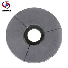 RIJILEI 5-10 inch BLACK Diamond grinding disc 125-250mm BUFF Marble Surface Polishing Pad Granite Resin Disc BG02