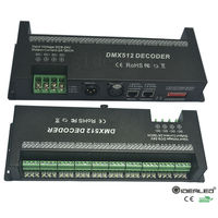 Easy 24 27 30 Channel DMX Decoder Best DMX 512 Dimmer Driver Input DC9 24V 60A