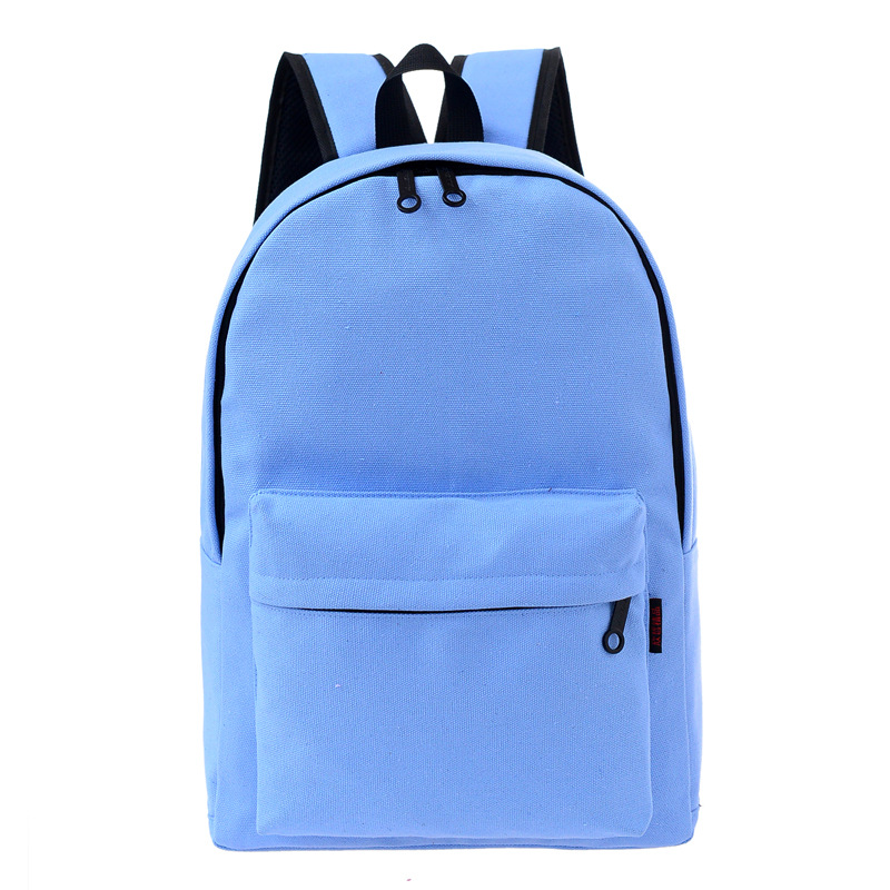 0c58894eafbcc 2018 بلون أزرق أسود محمول السفر المدرسة قماش ظهره النساء الأزياء النسائية  حزمة الظهر الحقائب المدرسية للفتيات