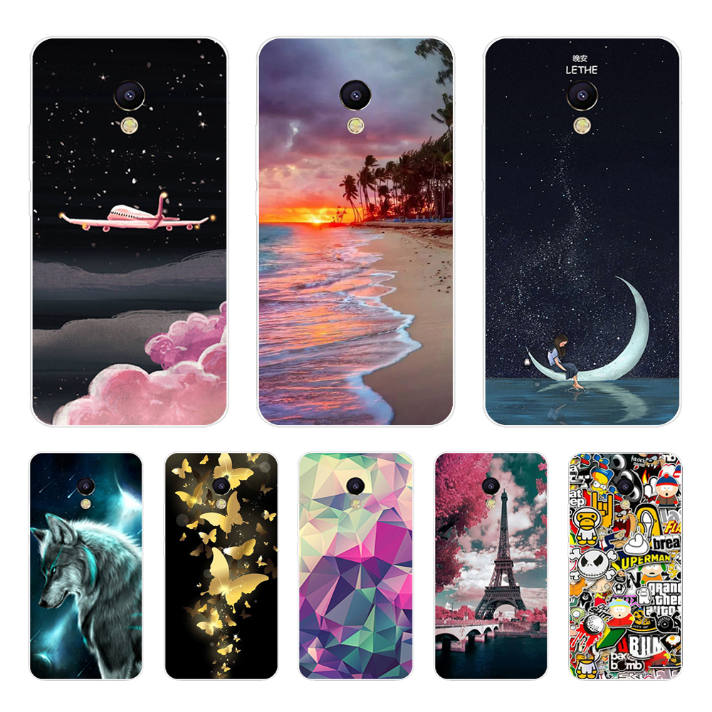 For Meizu M5s Case Soft TPU Silicone Cover For Meizu M5 Note Case for Meizu M5s M5C A5 M3S M3 Note M5 Mini Phone Back Cover Capa