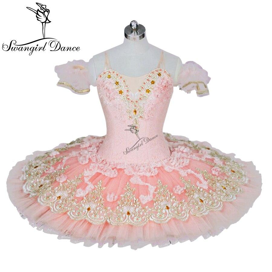 43f11936 ᐂDorosłych różowy brzoskwini orzechówka tutus baletu kobiet ...