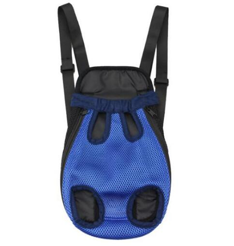 Fashion dogs cats mesh breathable backpack doggy double shoulder bags supplies puppy package products pet dog carrier 1pcs