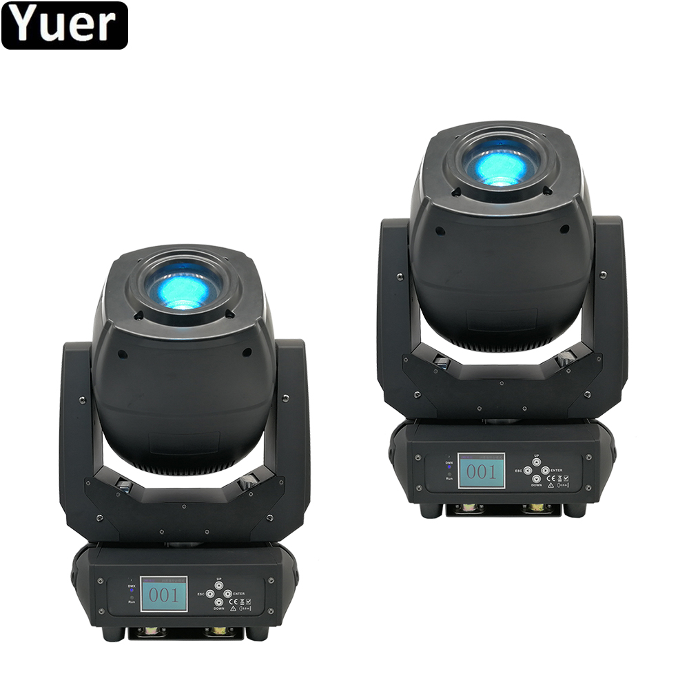 2Pcs/Lot 230W LED Moving Head Beam Spot Zoom Double Prism 3IN1 LED Beam Spot Wash Light DJ Club Party DMX512 Stage Lighting