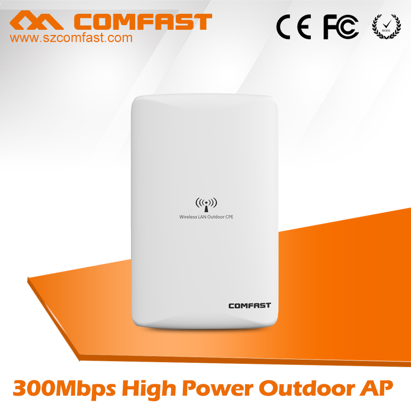 2PCS Comfast Outdoor wi-fi access point CPE 300M with 16dbi wifi Antenna Network Bridge wireless Long range nanostatio With POE 2pcs 5 8g 300mbps cpe wifi signal booster amplifier network bridge 2 14dbi antenna wi fi access point nanostatio for ip camera