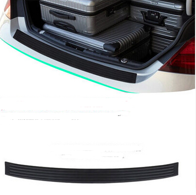 Car-Styling Rear Bumper Sill pedal Scuff Protective Stickers For Land Rover Range Rover Evoque Freelander Discovery