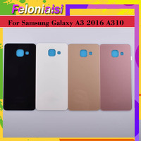 battery samsung galaxy 10Pcs/lot For Samsung Galaxy  A3 2016 A310 A310F A3100 Housing Battery Door Rear Back Glass Cover Case Chassis Shell Replacement (1)