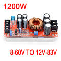 1200W 20A DC-DC Converter Boost Power Supply Module 8-60V Step-up TO 12V-83V 24v 48V 19V 72V Voltage Regulated