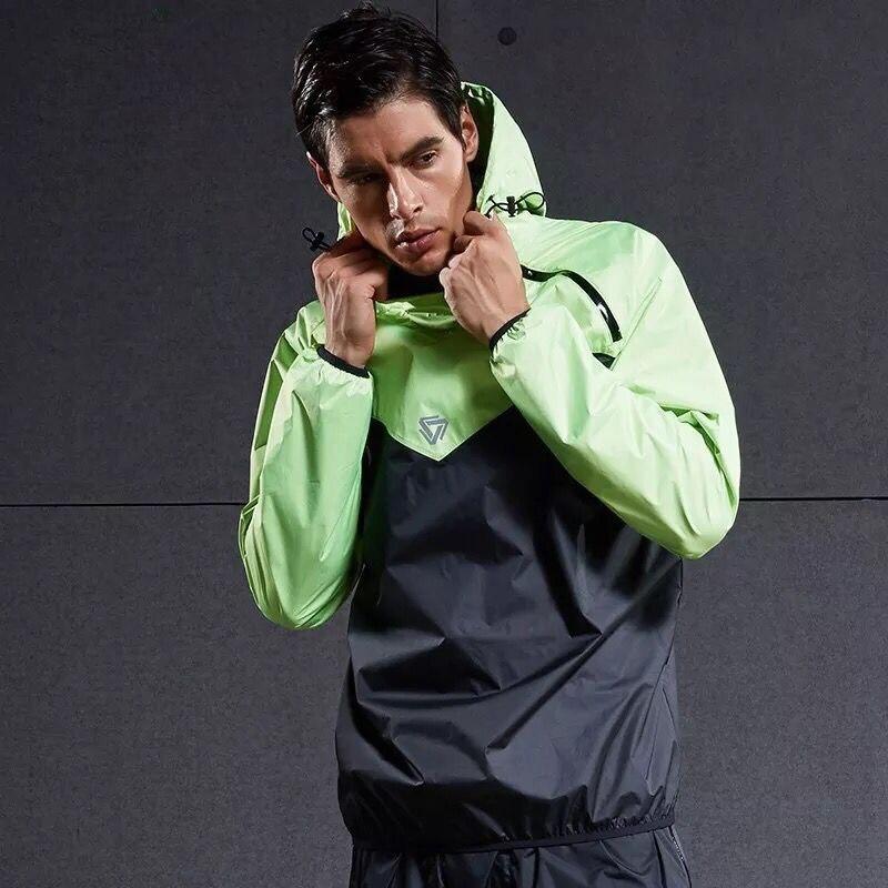 Men Running Jackets Windproof Long Sleeve Sports Hot Sweat Suit Sportswear Fitness Gym Sport Tops Workout Training Hooded Coat все цены