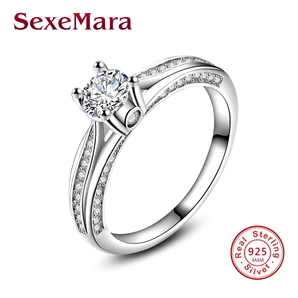 Masonic Infinity Engagement Ring 925 Sterlingsilverjewelry Aaa Cz Rings  For Women Jz68