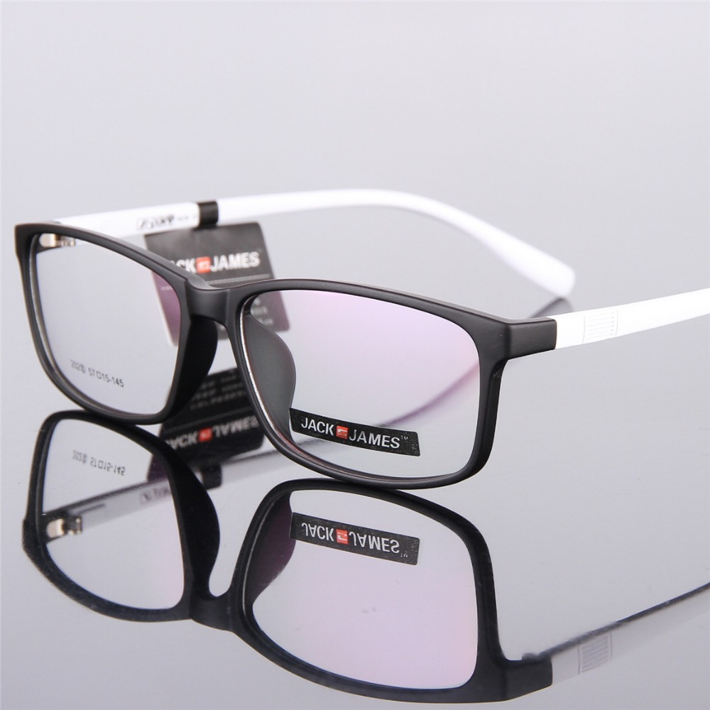 Image 2 - The new high end glasses 202 men and women retro large framed glasses TR90 glasses frame prescription glasses framesprescription glassesprescription glasses framesglasses tr90 -