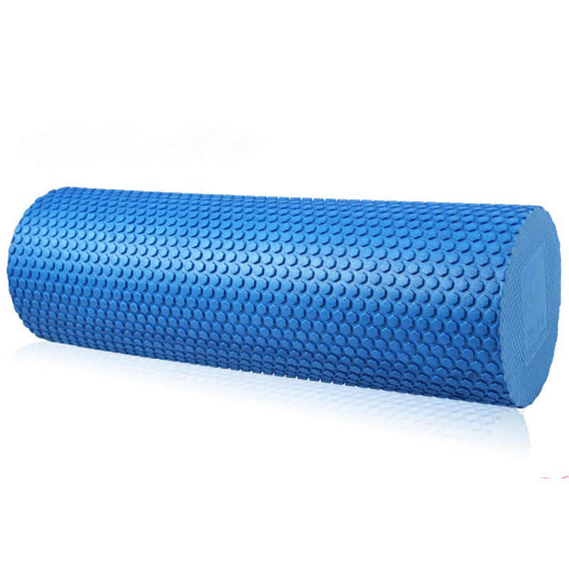 60cm Foam Roller EVA High Density Pilates Roller &Trigger-Point Foam Roller for Massage Stretching Fitness Yoga and Pilates