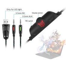 HPS4 3.5mm stereo USB LED omnidirectional