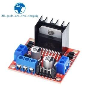 Image 3 - TZT 10 Chiếc Kép Mới H Cầu DC Động Cơ Bước Ổ Bộ Điều Khiển Mô đun L298N Cho Arduino Xe Thông Minh Robot