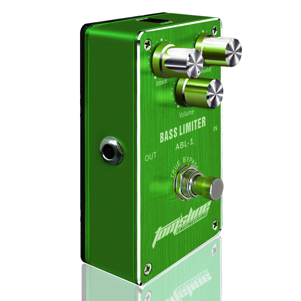 Aroma Bass Limiter Electric Bass Effect Pedal ABL-1 Premium Analogue True Bypass Quiet IC Chip Wide Range new aroma adr 3 dumbler dumble amp sound overdrive mini analogue effect true bypass