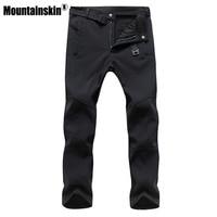 Mountainskin Men S Fleece Pants Casual Male S Jogger Winter Warm Pant Fashion Thick Winter Men