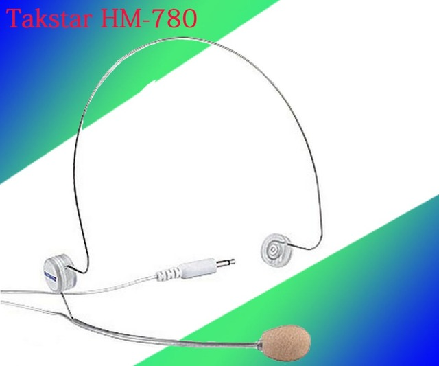 5pcs/Lot Takstar HM 780 headset microphone Thin steel wire Design ...