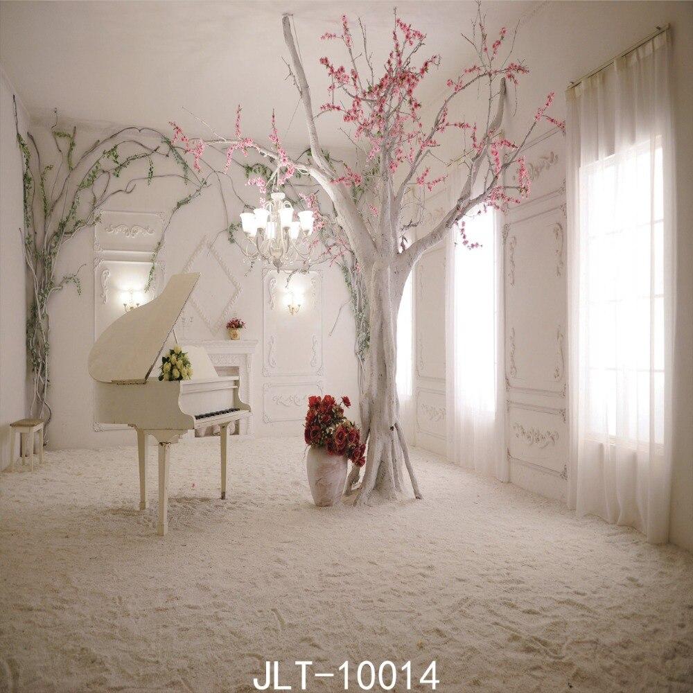 Gaya Klasik Romantis Foto Latar Belakang 8x8ft Sjoloon