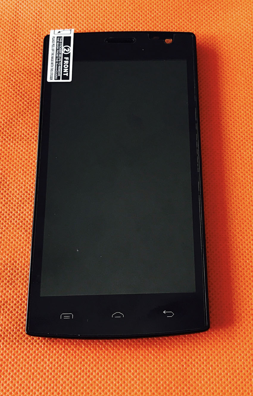 Used Original <font><b>LCD</b></font> Display +Digitizer <font><b>Touch</b></font> Screen+ Frame for Blackview Breeze V2 <font><b>4.5</b></font> <font><b>inch</b></font> Free shipping image
