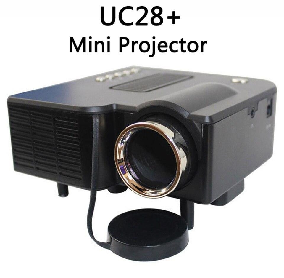 Unic multidimensión uc28 + mini hogar llevó el proyector del ordenador tv tarjet