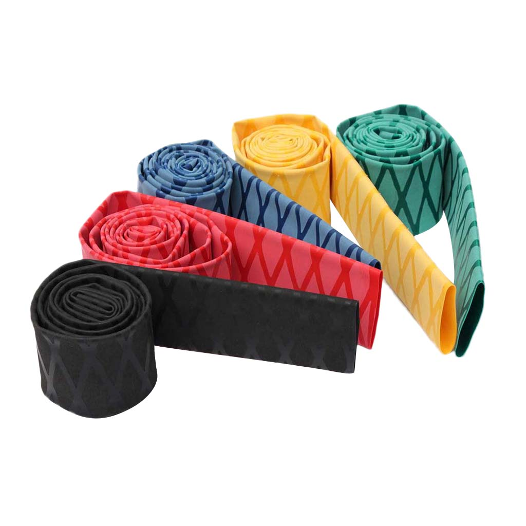Tube Rubber+PVC Textured Sports 1Pc Cool Heat Shrink 100cm Dia 20mm New