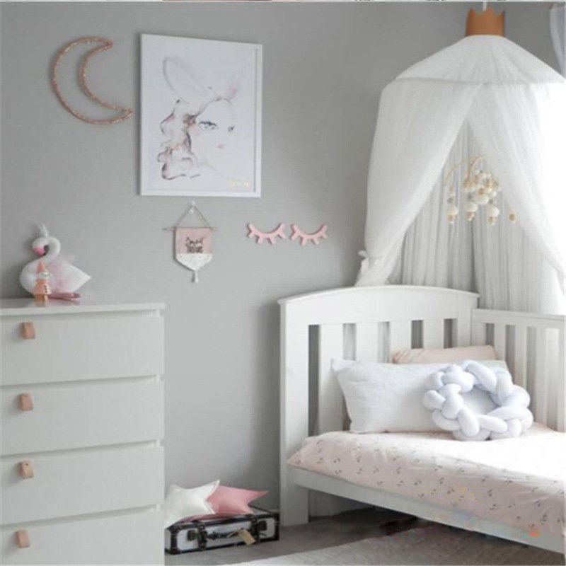 Summer Baby bed curtain kids Mosquito Net children Mesh Crib Netting Princess baby bedroom decoration baby photography props baby bed curtain kamimi children room decoration crib netting baby tent cotton hung dome baby mosquito net photography props