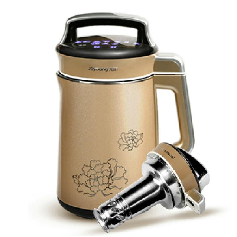 Joyoung Soybean Milk Machine/Fully Automatic Househlod Soymilk Machine Blender Free filter No Dregs Soybean Milk Maker