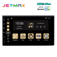 Double DIN 7 Универсальный 2 DIN два DIN android автомобильный радио 8.0 Octa core 4 ГБ 32 ГБ 1024*600 стерео Авто GPS плеер