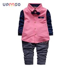 6127f791cc70 2016 Sale Kids Clothes Boys Clothing Sets Spring Autumn Toddler Boy Clothes  Sets Baby Boys Wedding Clothes birthday dress-in Clothing Sets from Mother  ...