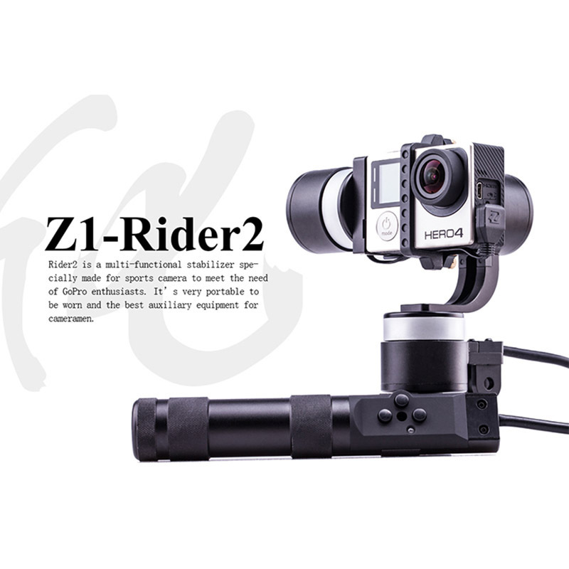 Original Zhiyun Z1-Rider 2 Handheld Steady 3-Axis Camera Brushless Gimbal for Gopro 3 4 Free Express Shipping
