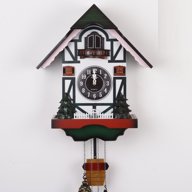 free shipping wall clock kairos cuckoo clock high quality wooden