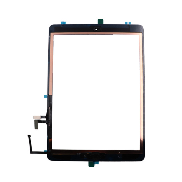 20pcs lot DHL Original Touch Screen Glass Panel Digitizer for iPad Air 1st includes home button