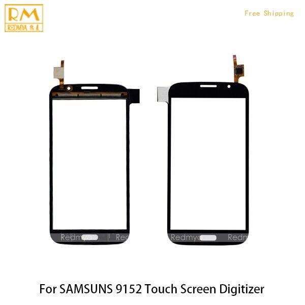 5pcs/lot For Samsung Galaxy Mega i9150 i9152 GT-i9150 GT-i9152 Touch Screen Panel Digitizer Sensor Glass Lens Phone Parts 5.8''