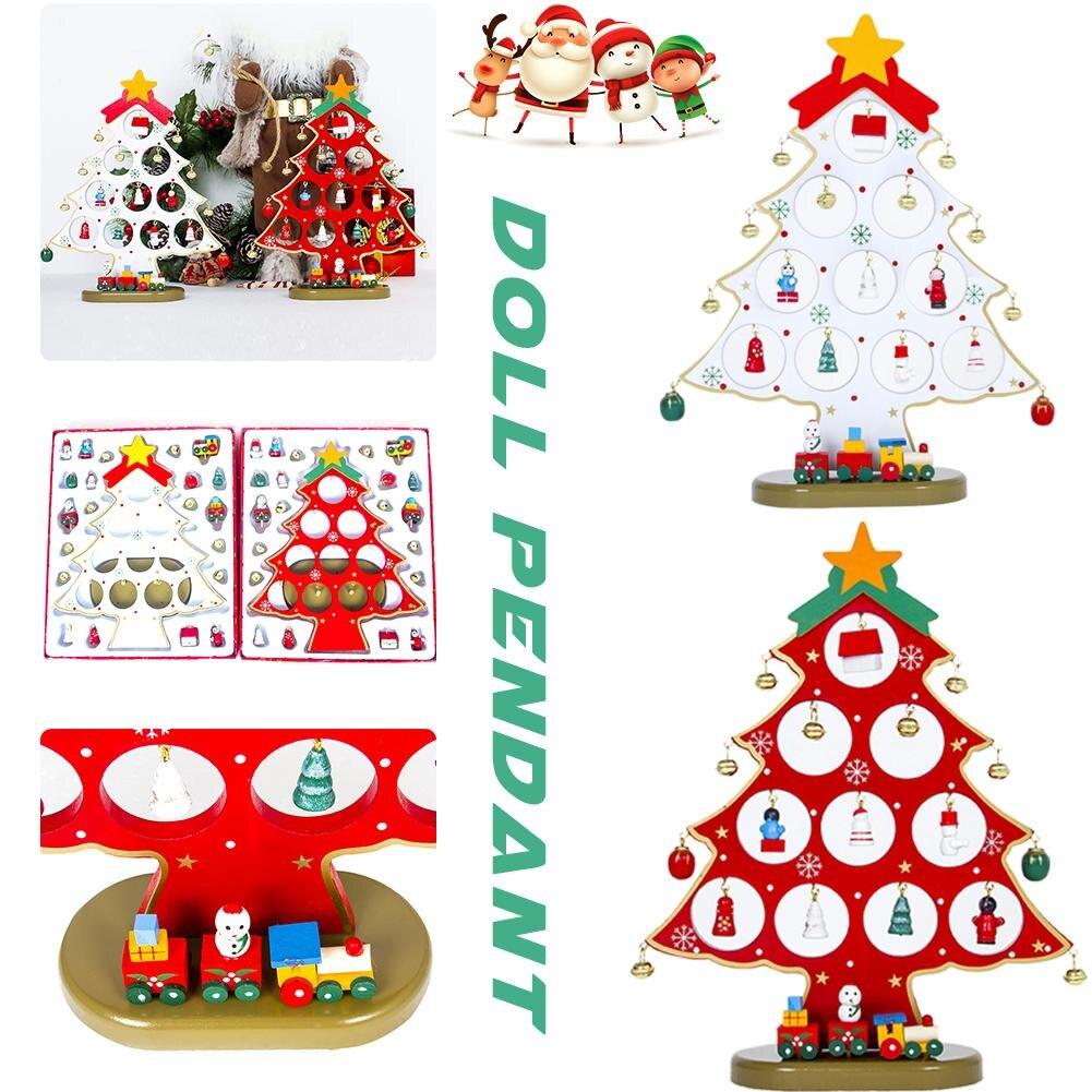 2018 shopping mall hot items christmas decoration creative christmas tree ornament christmas doll pendant decoration in pendant drop ornaments from home