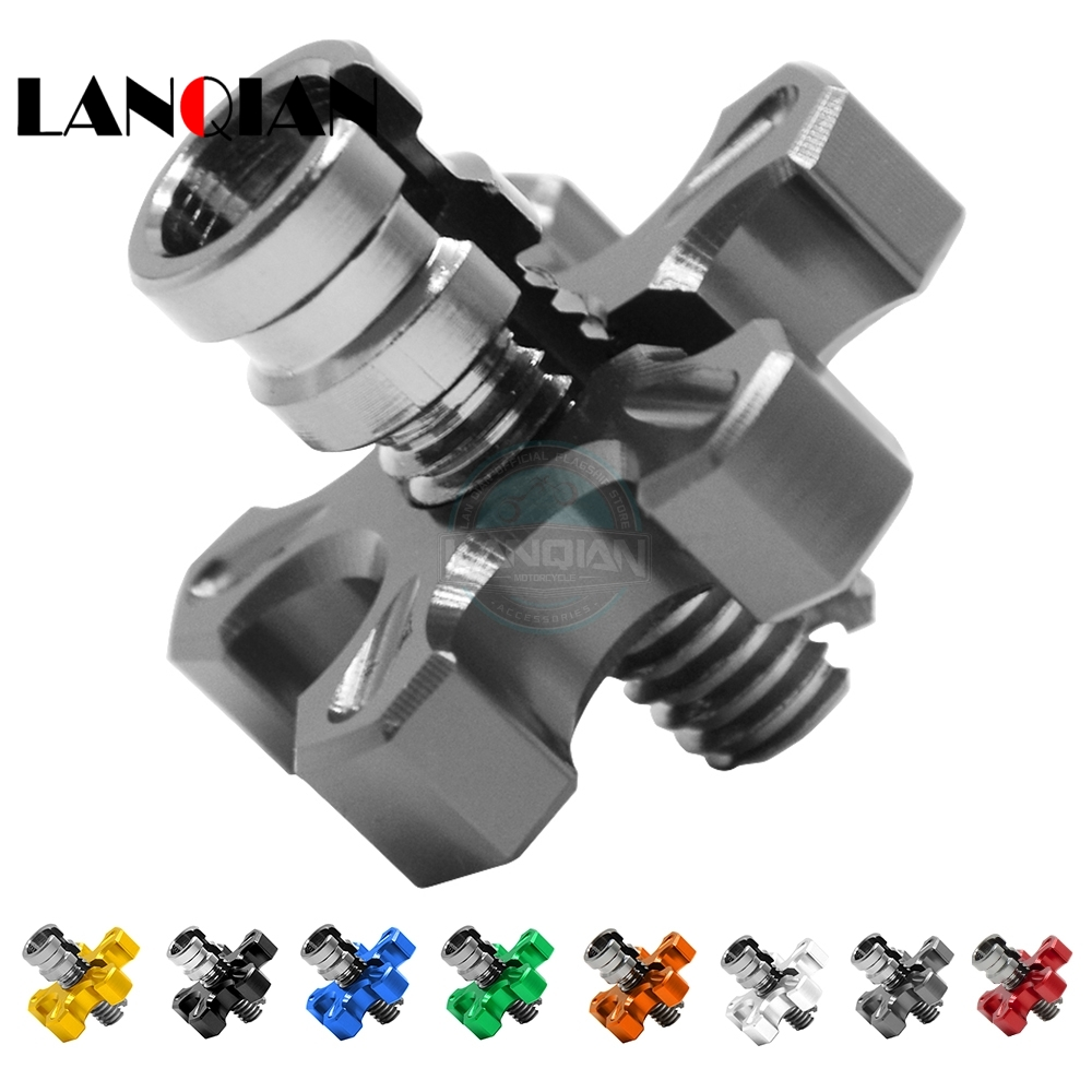 Frames & Fittings Motorcycle Cnc Twister Throttle Assembly For Yamaha Yzf-r6 Yzf-r1 All Most Model Blue Good Quality Motocross Pit Bike Motorcycle Accessories & Parts