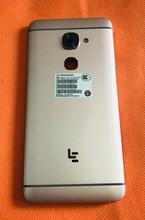 משמש מקורי מגן סוללה מקרה כיסוי + מצלמה זכוכית עבור LeEco LeTV Le S3 X626 Helio X20 MTK6797 Deca Core משלוח חינם