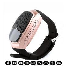 50pcs B90 Smart Watches Alarm Clock Sports digital Watch speakers Hands-free FM Radio Anti-Lost portable Bluetooth Music Speaker
