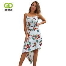 c6d4af359fe9268 GOPLUS цветочный принт Boho шифоновые платья для женщин кружево лоскутное  ремень V средства ухода за кожей