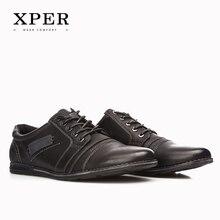 2017 XPER Marke Männer Schuhe Lace-up Beiläufige Schuhe der Männer Große Größe Business Schuhe Freizeit