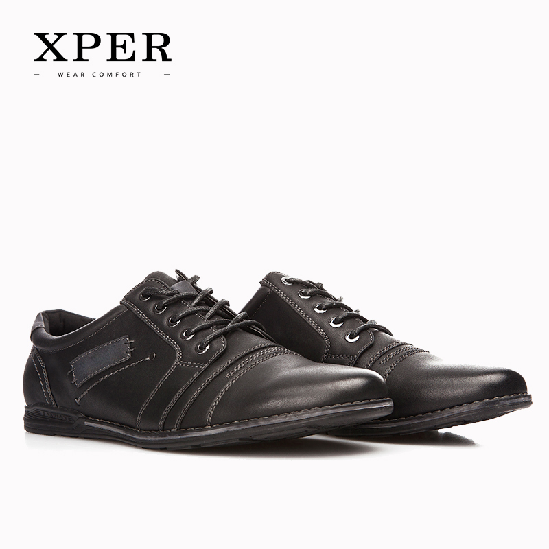 2017 XPER Marca Hombres Zapatos con cordones de Los Hombres Zapatos Casuales Zap