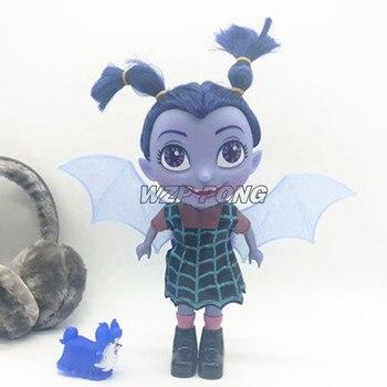 0267f991d384 Junior Vampirina el vampiro Bat mujer chica PVC modelo muñecas figuras de acción  sonido música ligera juguete colección Brinquedos
