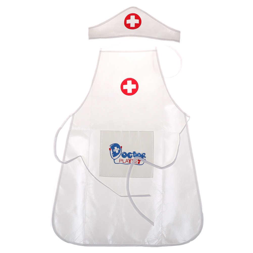9cf8b6eac58e1 ... Los niños jugar juego médico ropa juguetes médico enfermera realizar  pequeñas vacaciones regalo para bebé juguetes ...