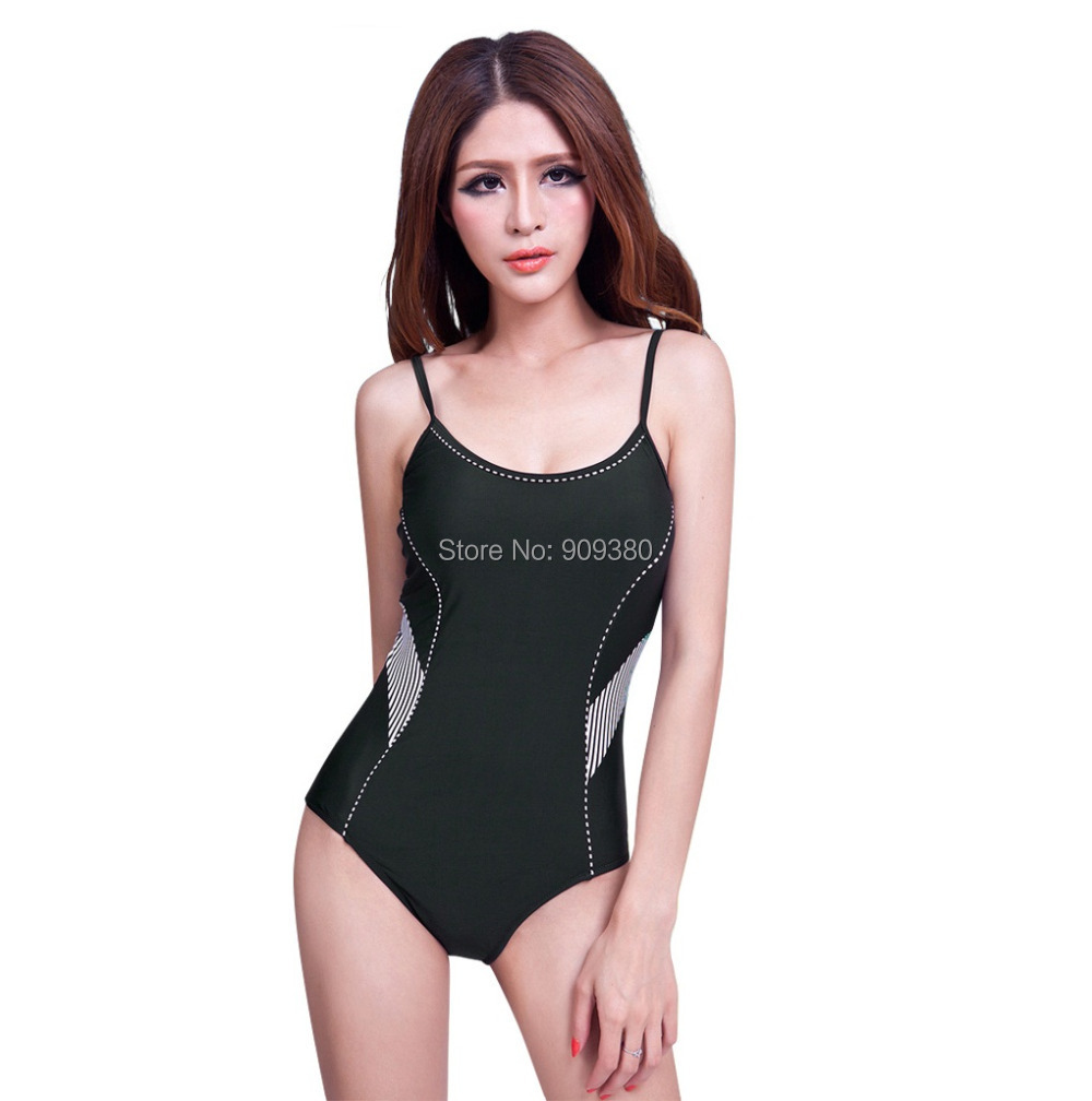 Swimwears Triangle women swimwear sport trigonometric fashion hot one-piece bathing suit plus-size beachwear Summer Swimsuit set - Colife store
