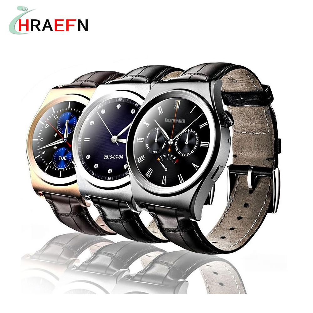 Hraefn Reloj inteligente X10 smart watch heart rate monitor sports smartwatch for  android men business watches Call Reminder