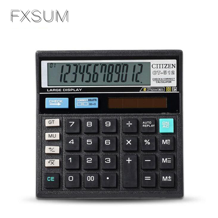 FXSUM Classical Finance Desktop Office Electronic Dual ...