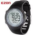 Оригинал EZON Марка Профессиональный Бег Спорт Цифровые Часы Мужчины Женщины Водонепроницаемый Цифровые Часы Часы Dual Time Наручные Часы