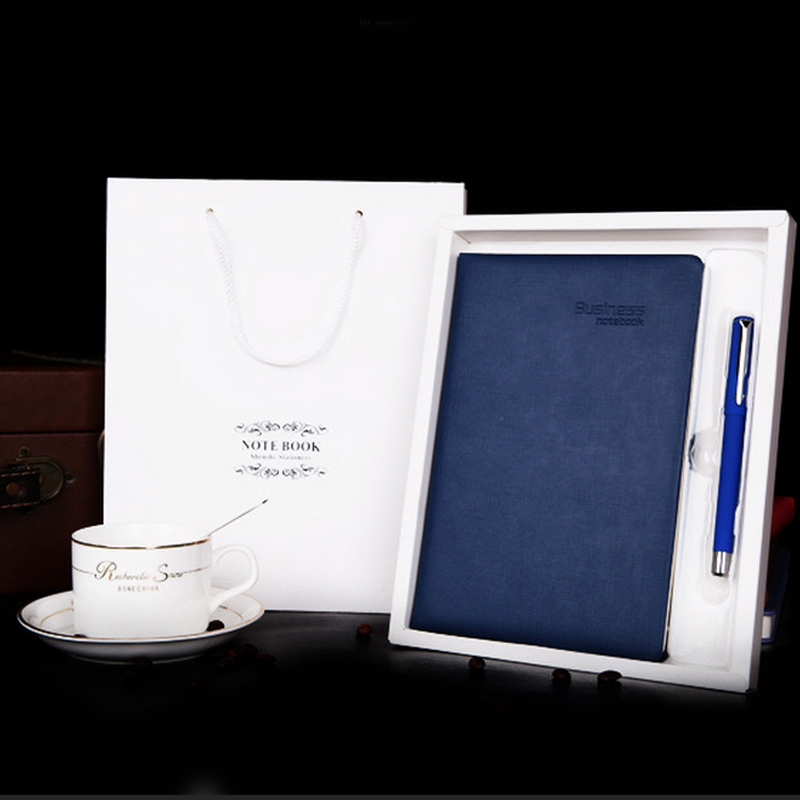 MEIKENG Gift Set Notebook 100 Sheets Business Notepad Newest Diary Book High-end Gifts Office Learning Stationery meikeng 1pc 75 sheets vintage loose leaf notebook memo pad notepad school supplies office supplies high end gift