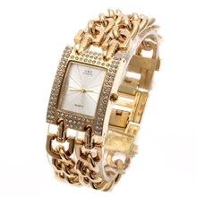 G & D de Las Mujeres Relojes de pulsera de Cuarzo de Oro de Acero Inoxidable de Primeras Marcas de Lujo relojes de Vestir Analógicas Reloj Relogio Del Reloj Feminino Femme Reloj regalos