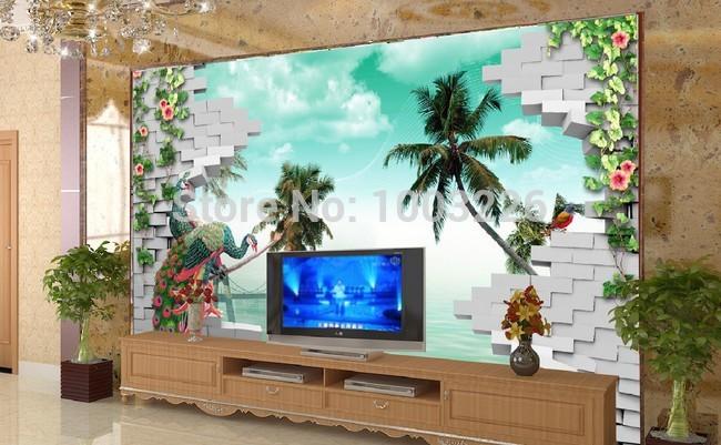 baumrinde tapete-kaufen billigbaumrinde tapete partien aus china ... - Grose Wandbilder Wohnzimmer