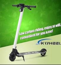 2016 Kwheel Складной Литий Велосипед Батареи 10.5A Углеродного Волокна Легкий Электрический Скутер